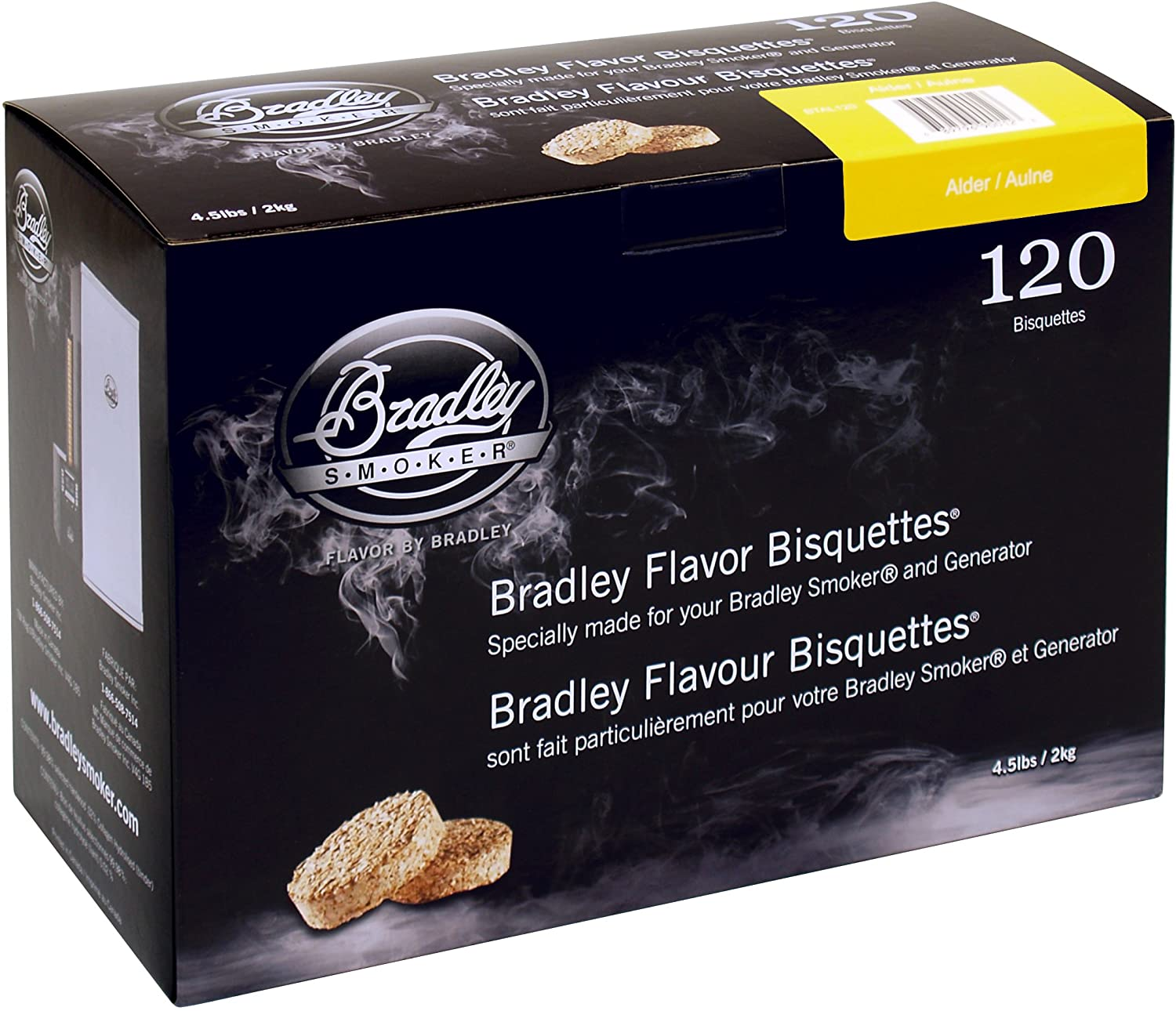Bradley Electric Smoker Bisquettes Wood Chips Reviews
